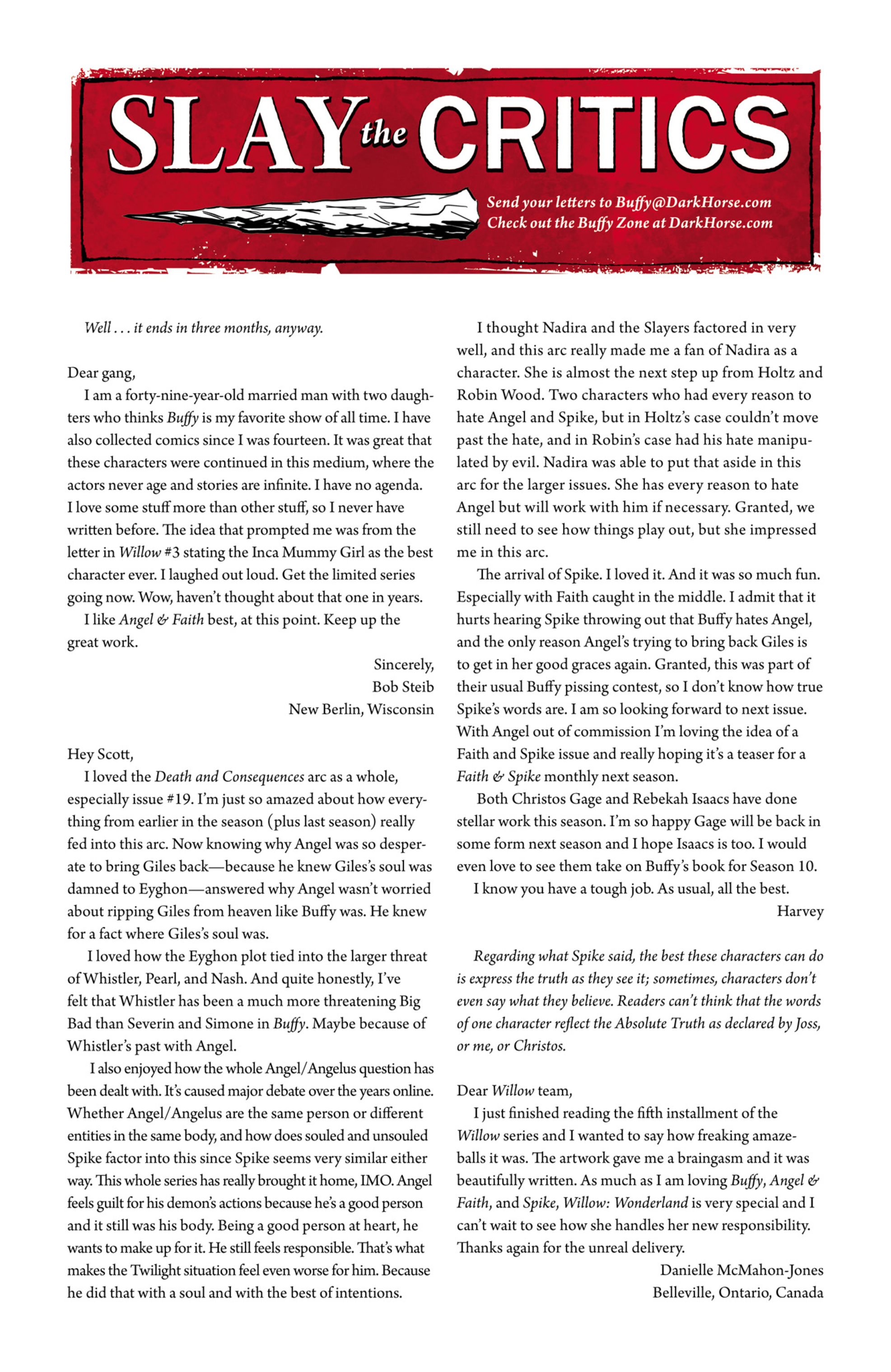 Read online Angel and Faith comic -  Issue #22 - 26
