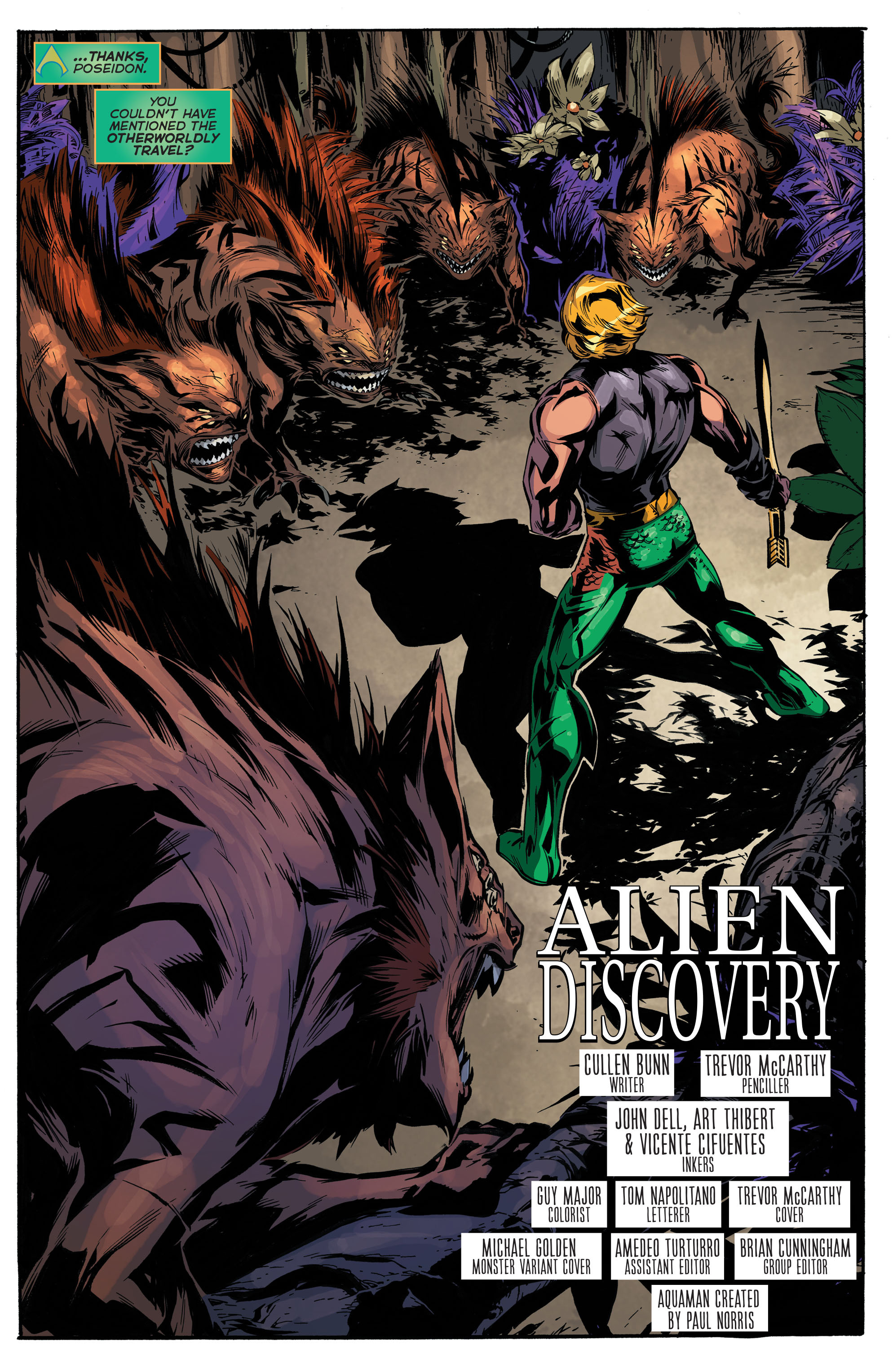 Read online Aquaman (2011) comic -  Issue #45 - 5