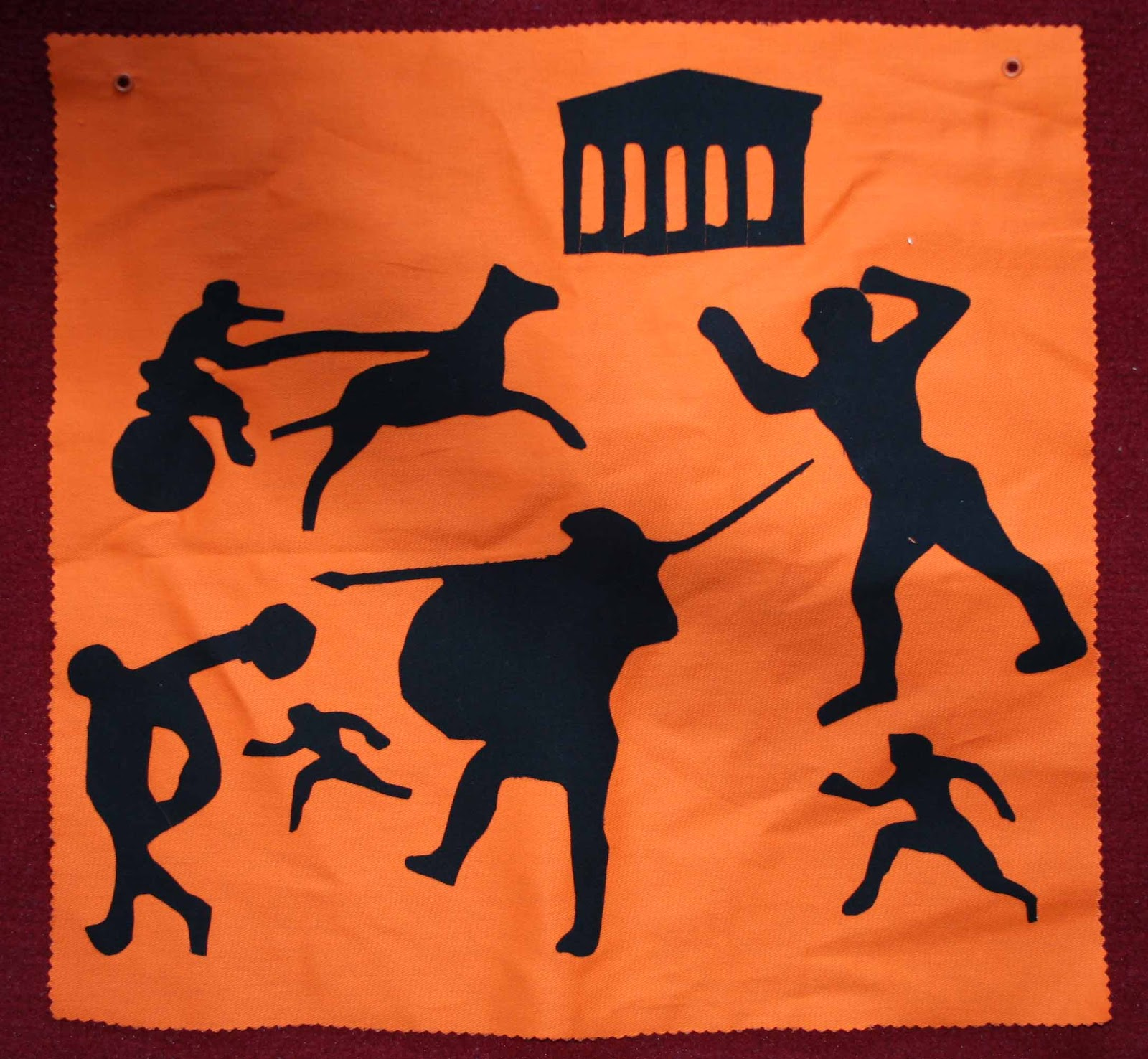 Creating And Educating Ancient Greek Olympics