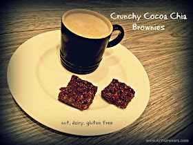 crunchy cocoa chis brownies