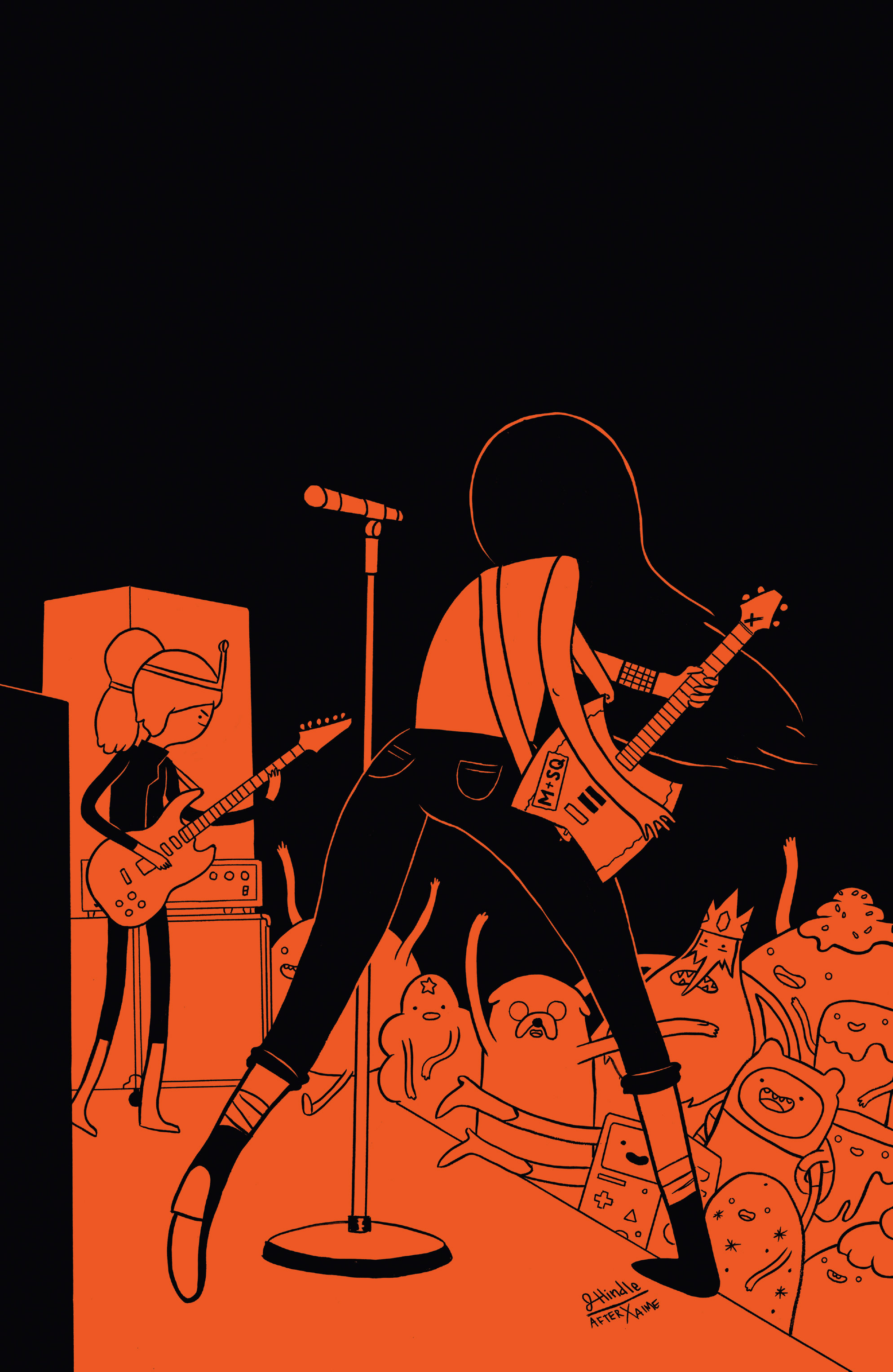 Read online Adventure Time: Marceline and the Scream Queens comic -  Issue #5 - 4