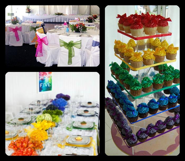 Wedding Theme Ideas 2013: Events By Tammy: 2013 Wedding Trend #1: Rainbow Theme