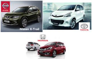 Deretan Mobil Indonesia Terlaris