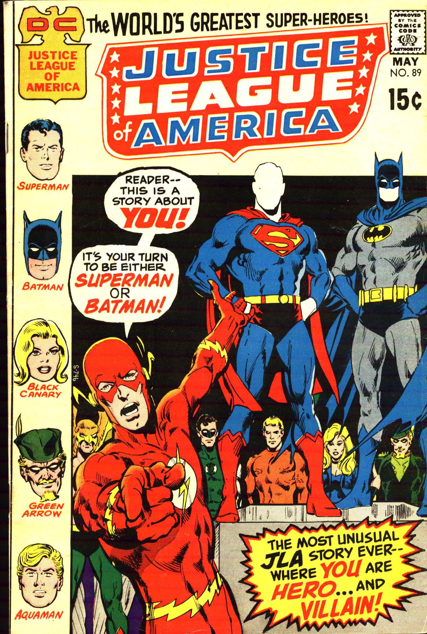 Justice League of America (1960) 89 Page 1