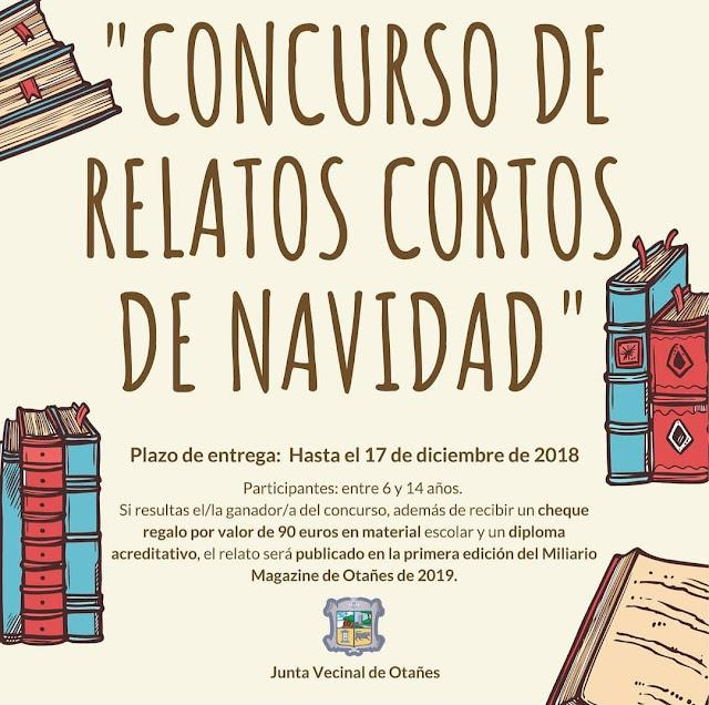 Concurso de relatos cortos de Navidad de Otañes 2018