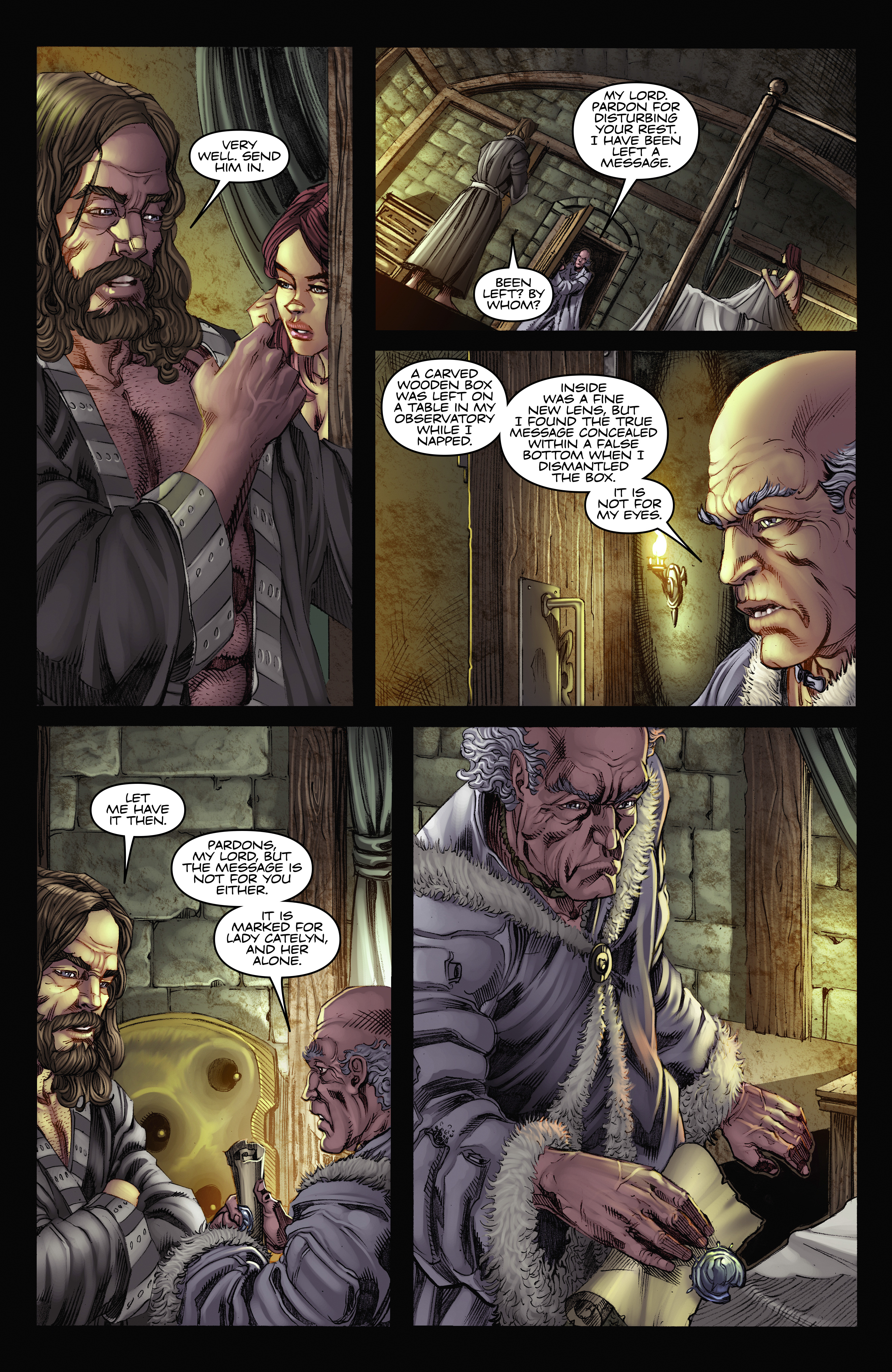 Read online A Game Of Thrones comic -  Issue #2 - 25
