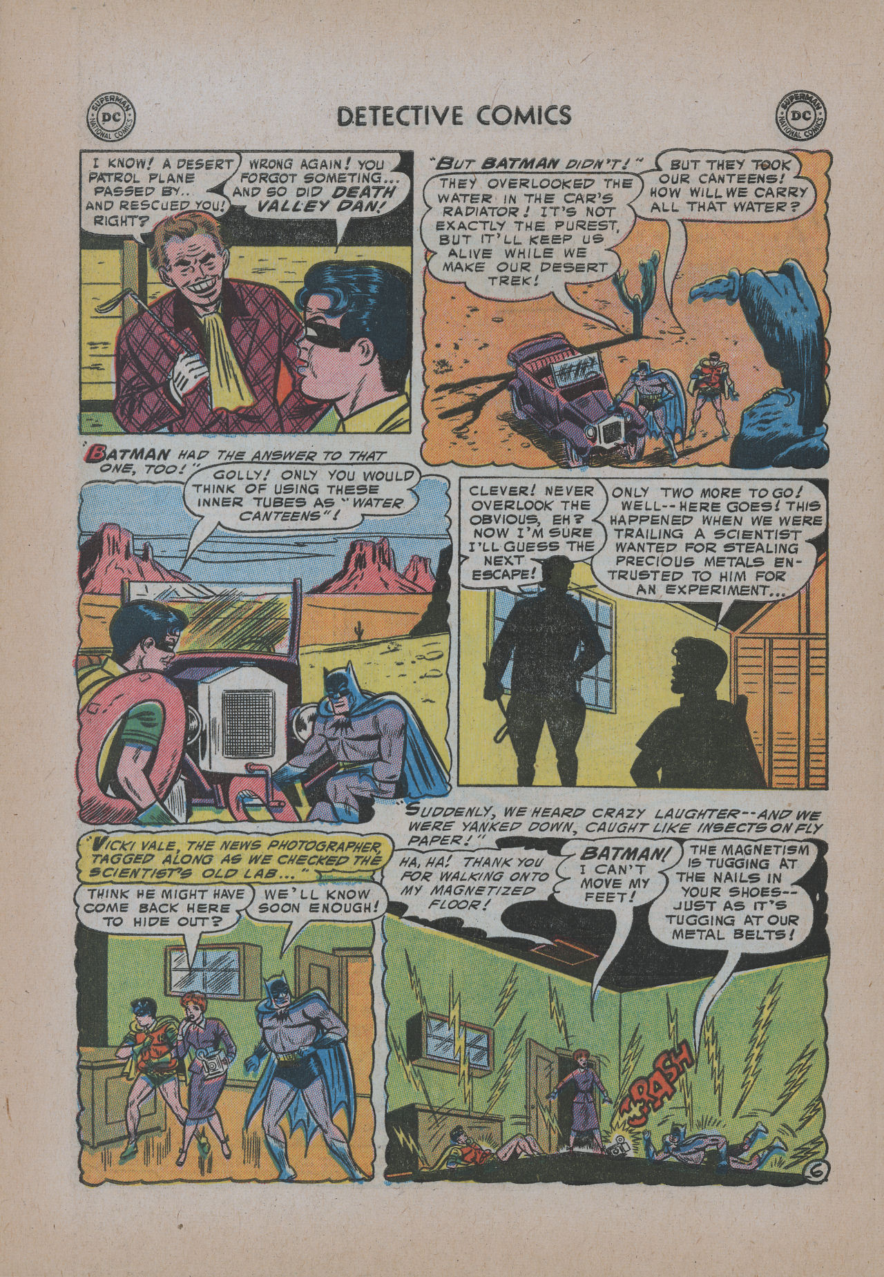 Read online Detective Comics (1937) comic -  Issue #221 - 8