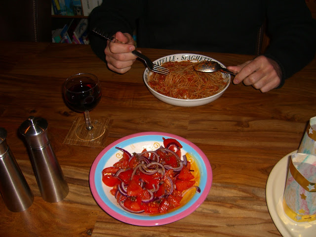 Foto van puttanescamet tomaten-vissaus