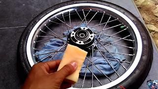 Cara Menghilangkan Karat Pada Velg dan Rangka Motor