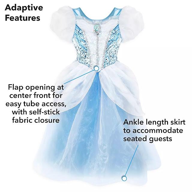 Disney Cinderella Adaptive Costume