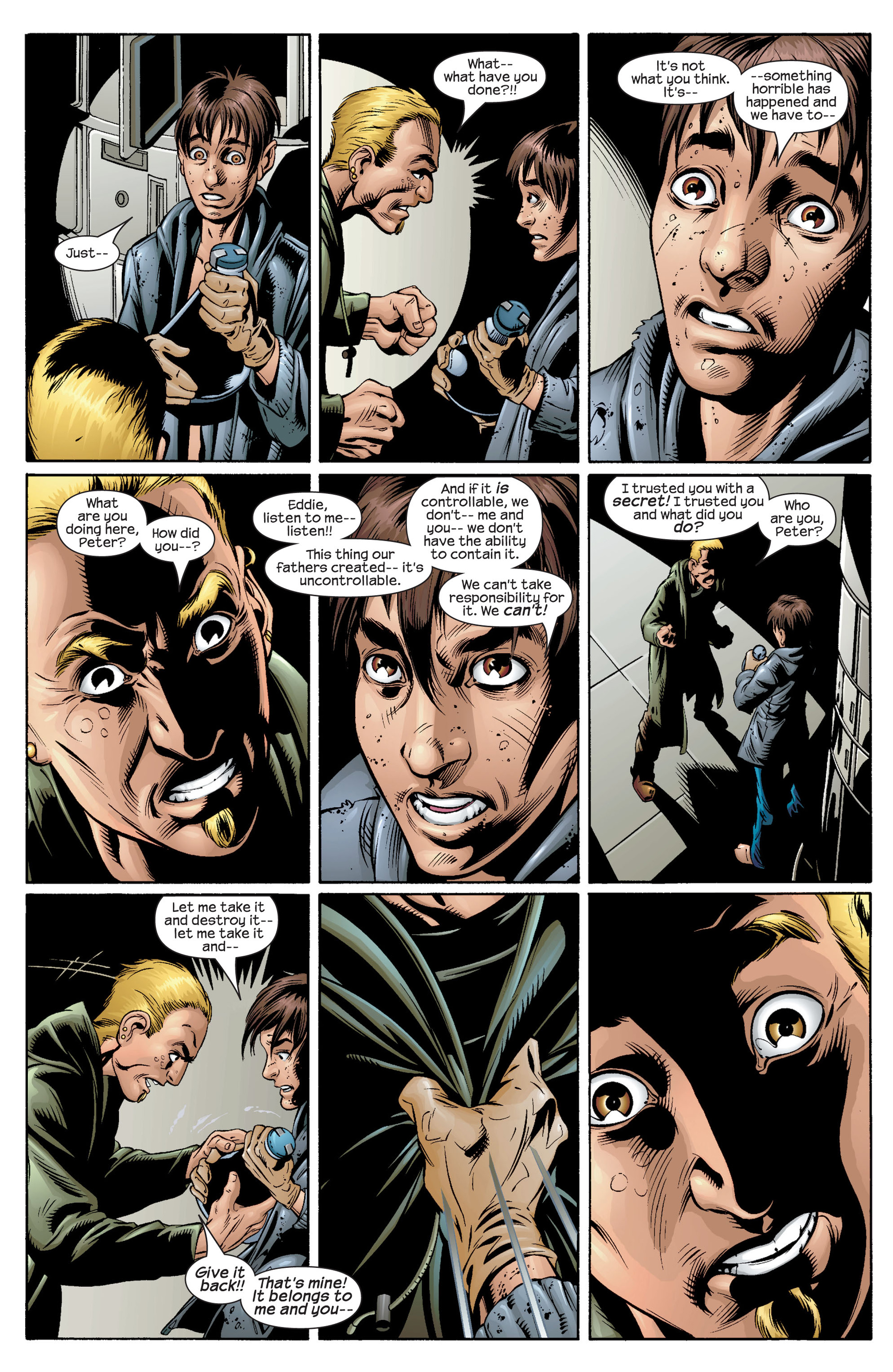 Read online Ultimate Spider-Man (2000) comic -  Issue #36 - 9
