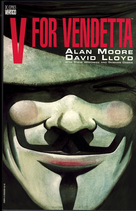 A plot summary of the alan moore and davis lloyds graphic comic novel v for vendetta