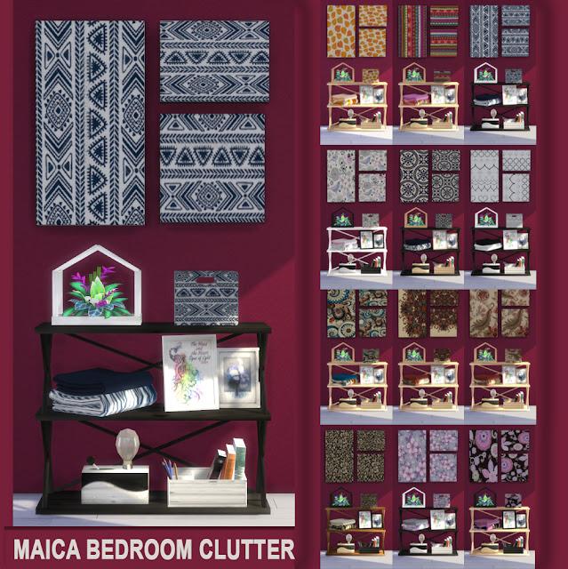 Clutter Dormitorio Maica 12