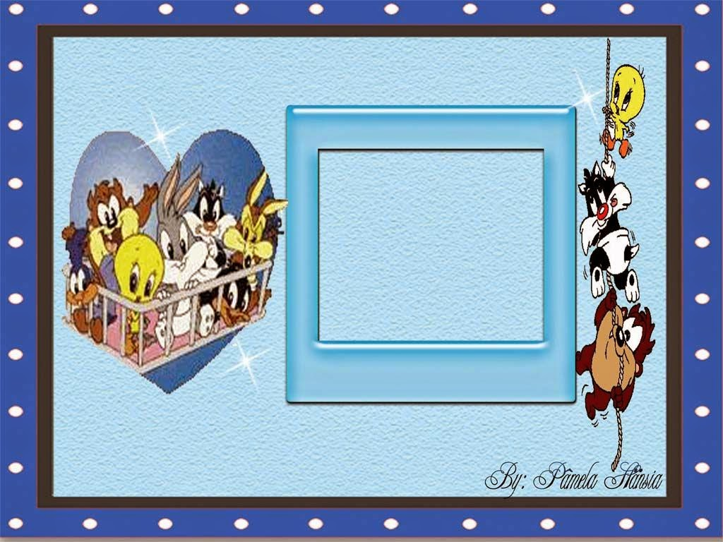 Baby Looney Tunes: Free Printable Invitations or Cards ...