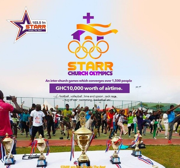 2018 Starr FM Church Olympics Registration Ends Today