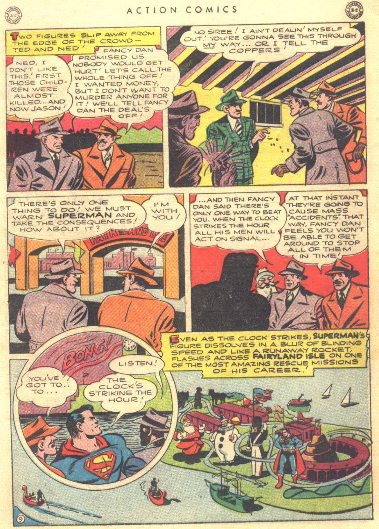 Read online Action Comics (1938) comic -  Issue #81 - 11