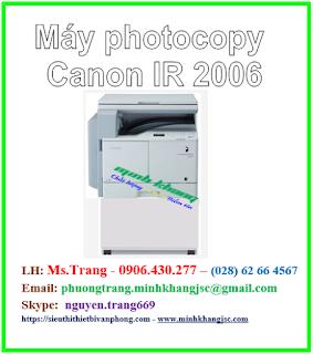 máy photo dưới 20 triệu canon ir 2006