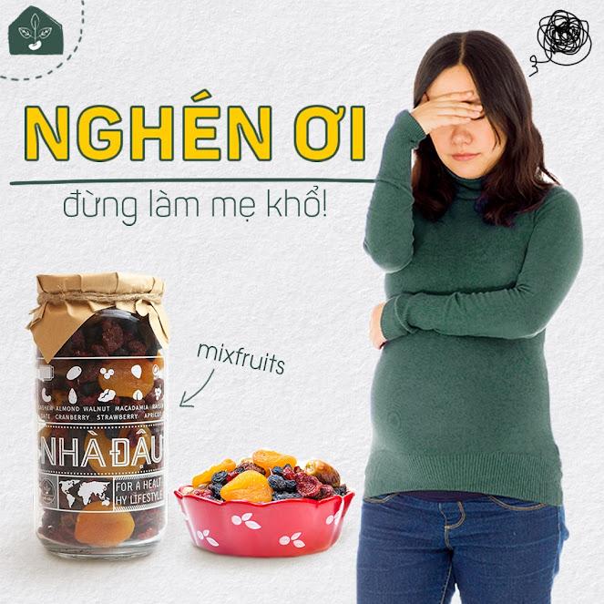[A36] Mixnuts dinh dưỡng nên mua cho Bà Bầu và thai nhi