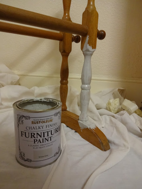 rustoleum vintage towel rail