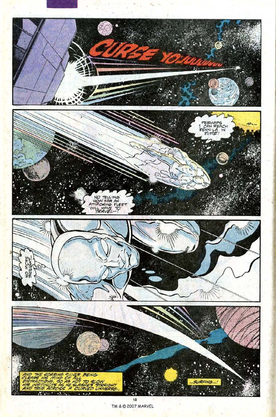 Read online Silver Surfer (1987) comic -  Issue #25 - 20