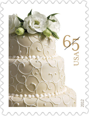 wedding cake stamp stamp collecting news january 2012 25599