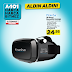 A101'de renkli aksesuarlar ve 3D Sanal Gerçeklik Gözlüğü