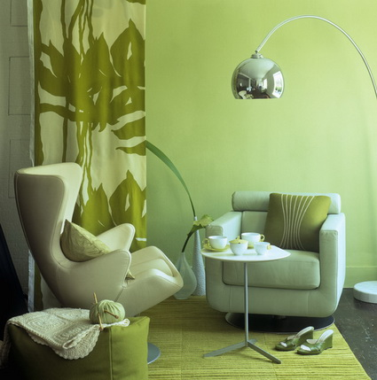 Lounges in green color 5