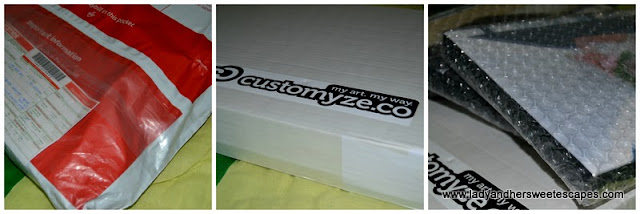 package from Customyze.co