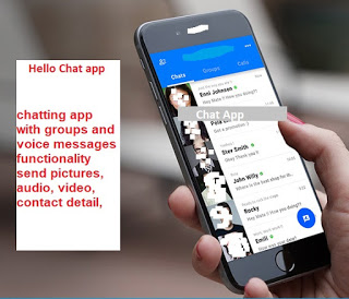 Chatting App With Voice/Video Calls, Voice Messages + Groups | Android