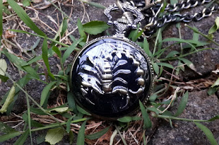 Pocket Watch Scorpion Steampunk Relogio de Bolso PB027