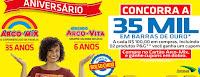 Promoção Bolso Cheio Aniversário Arco-Mix