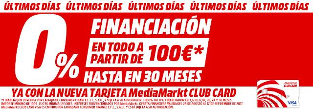 Mejores ofertas folleto 0% financiación III de Media Markt