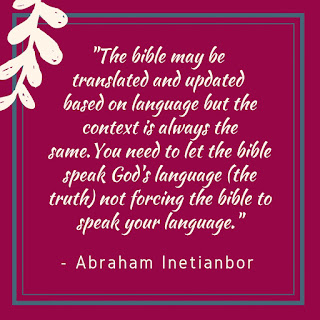bible translations