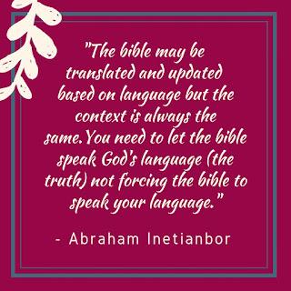bible translations