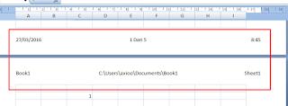 header footer nama file dan waktu tanggal