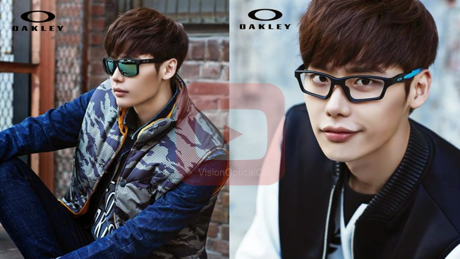 李鍾碩이종석Oakley HOLBROOK and CROSSLINK 太陽眼鏡框