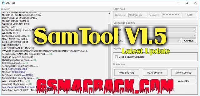 SamTool V1.5 Latest Update Setup Free Download