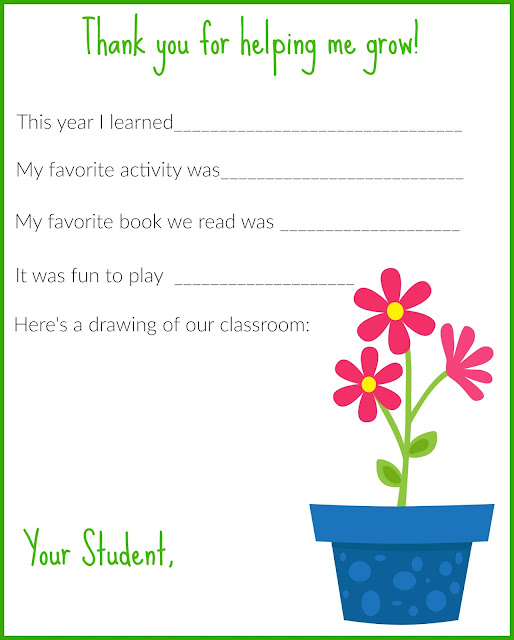 Thanks For Helping Me Grow Quotes: The Chirping Moms: A Thank You Letter For Teachers {Free