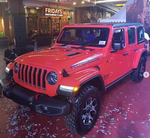 All New Jeep Wrangler JL