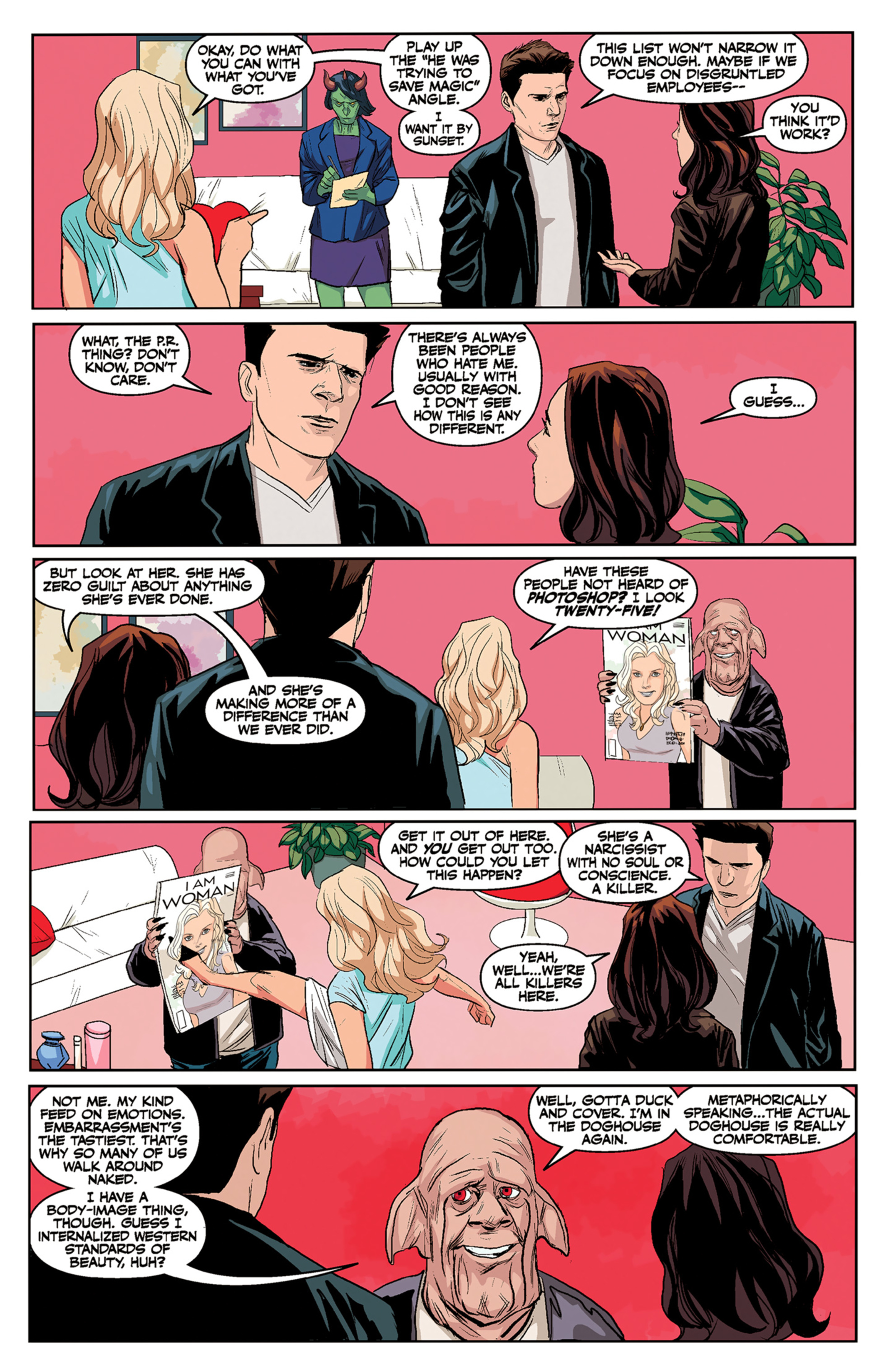 Read online Angel and Faith comic -  Issue #5 - 17