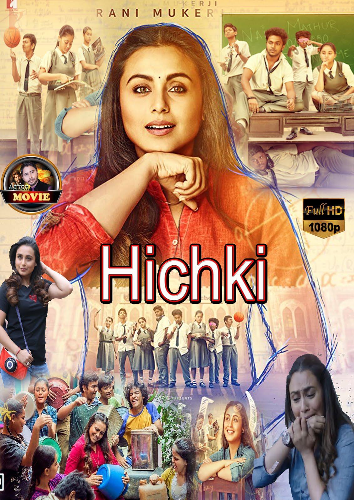 Hichki (2018) Hindi 720p BRRip x264 AC3 1.4GB ESubs