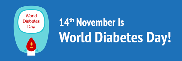 world diabetes day banners
