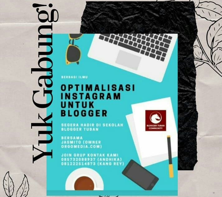 Kuliah Online Di Group Wa SBT : Cara Optimalisasi Instagram Untuk Blogger
