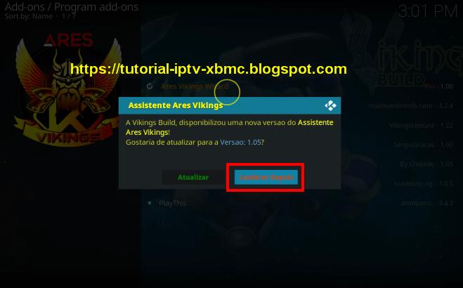 Ares Vikings Wizard Build Kodi 18, 17  - Melhores Builds do