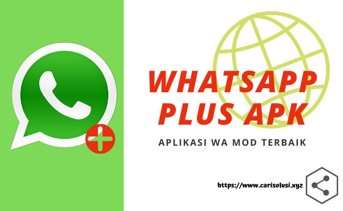 download whatsapp plus mod terbaru