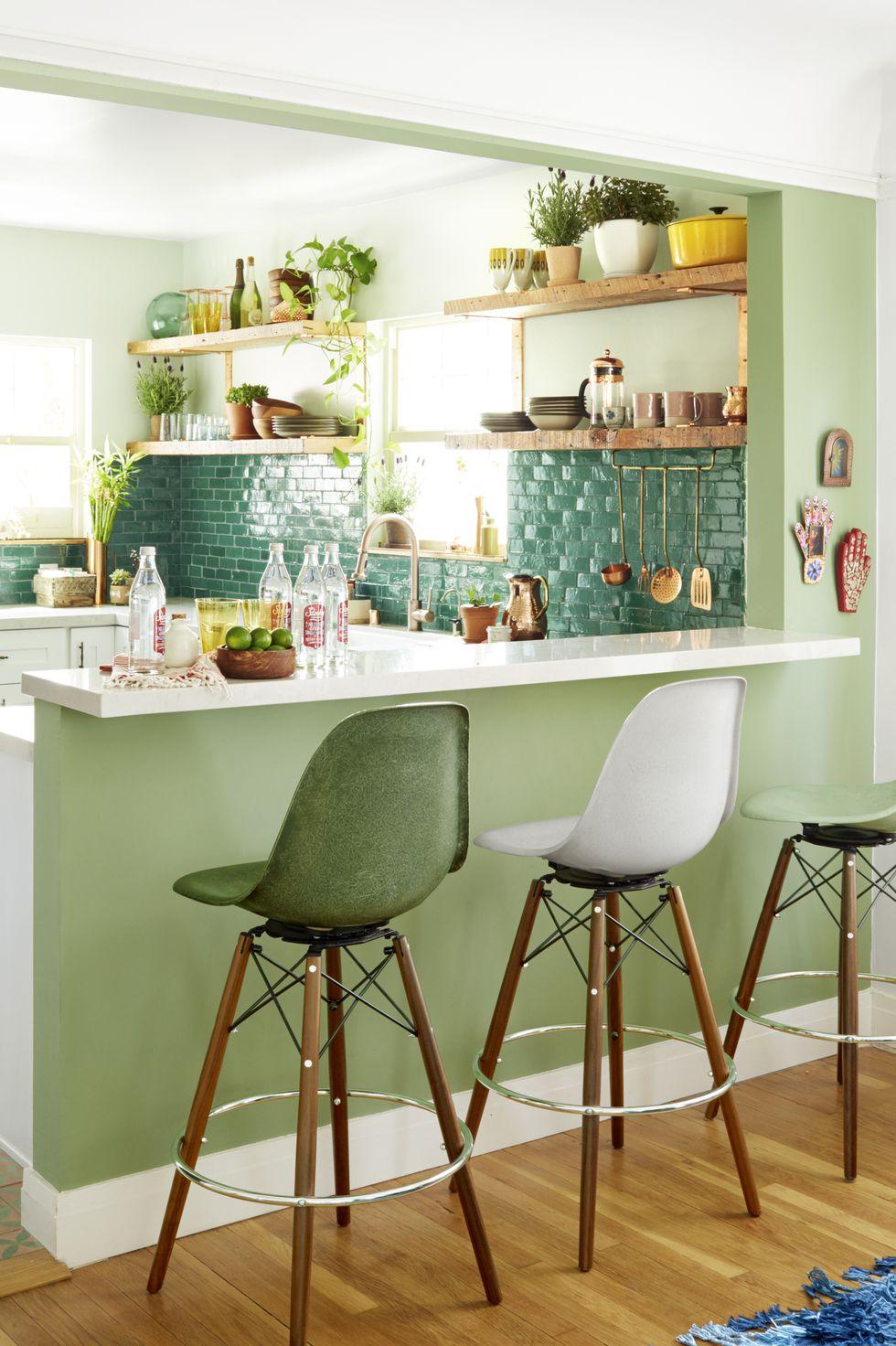 15 Pilihan Warna Cat Dinding Dapur Paling Bagus ...