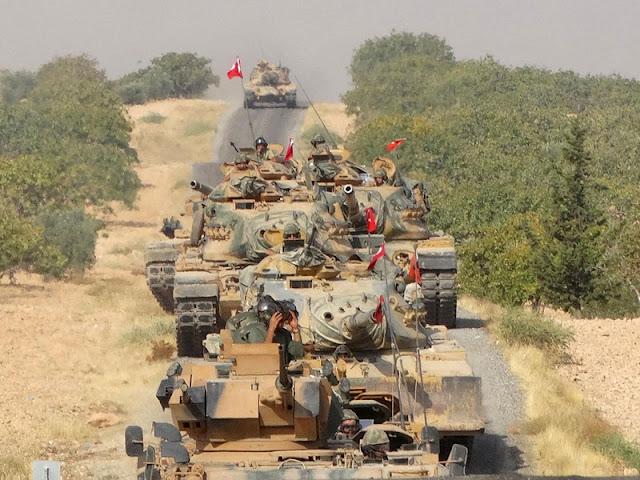 Basmi ISIS Suriah, Turki Kirim Tambahan Puluhan Tank