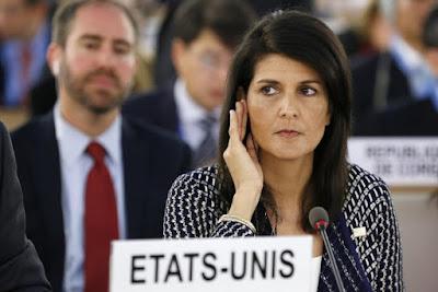 EUA ameaçam sair do Conselho de Direitos Humanos se não se discutir menos Israel