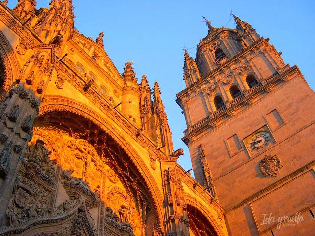 Salamanca Imprescindible atardecer luz