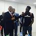Photos-Mr Eazi meets Nigerian billionaire, Tony Elumelu
